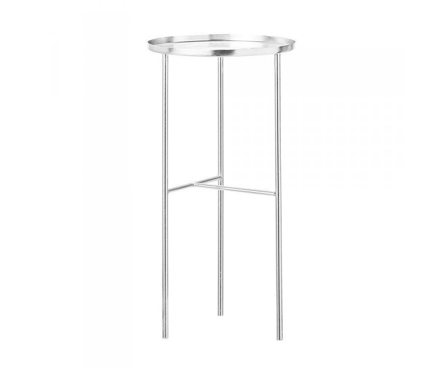 Table d'appoint métal chromé PRETTY - Bloomingville