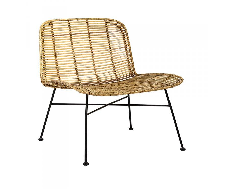 Chaise lounge rotin ORGA - Bloomingville