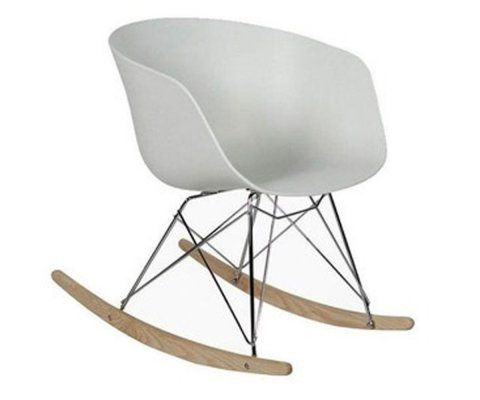 Chaise à bascule scandinave design RAY