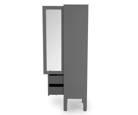 Armoire vitrine 1 porte scandinave-ATA