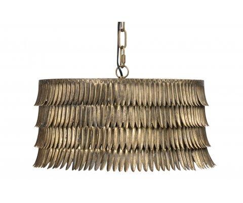 Suspension tendance en métal doré DUBAI