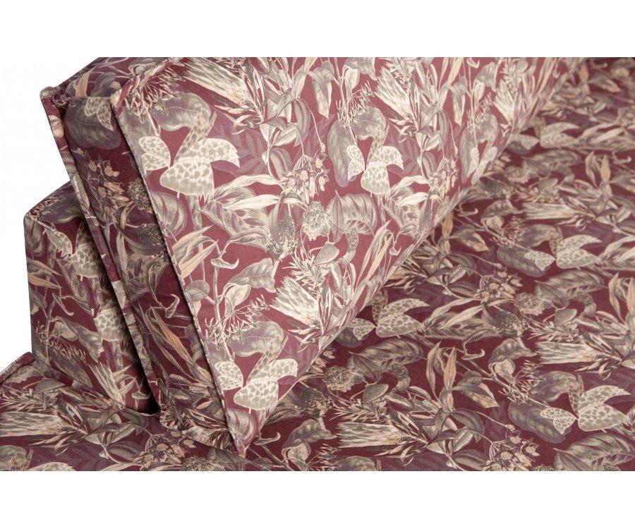 Méridienne vintage en tissu fleuri COLORADO