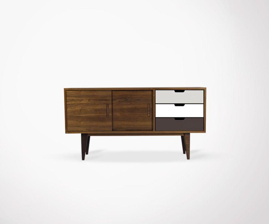 Enfilade style ann es 50 design scandinave for Designer scandinave annees 50