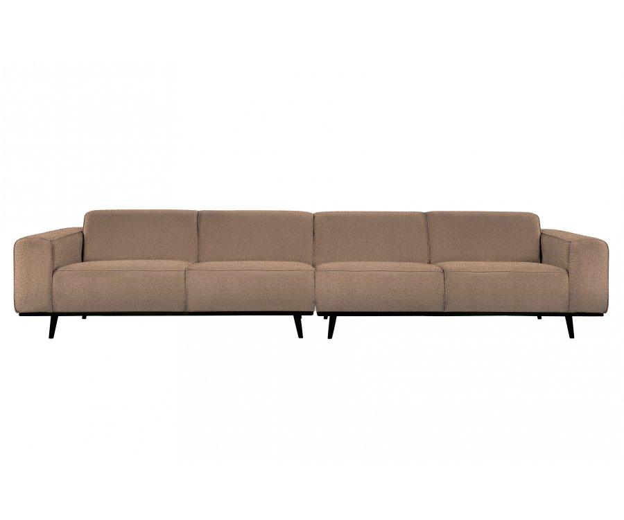 Grand canapé 4 places en tissu 372cm STATEMENT