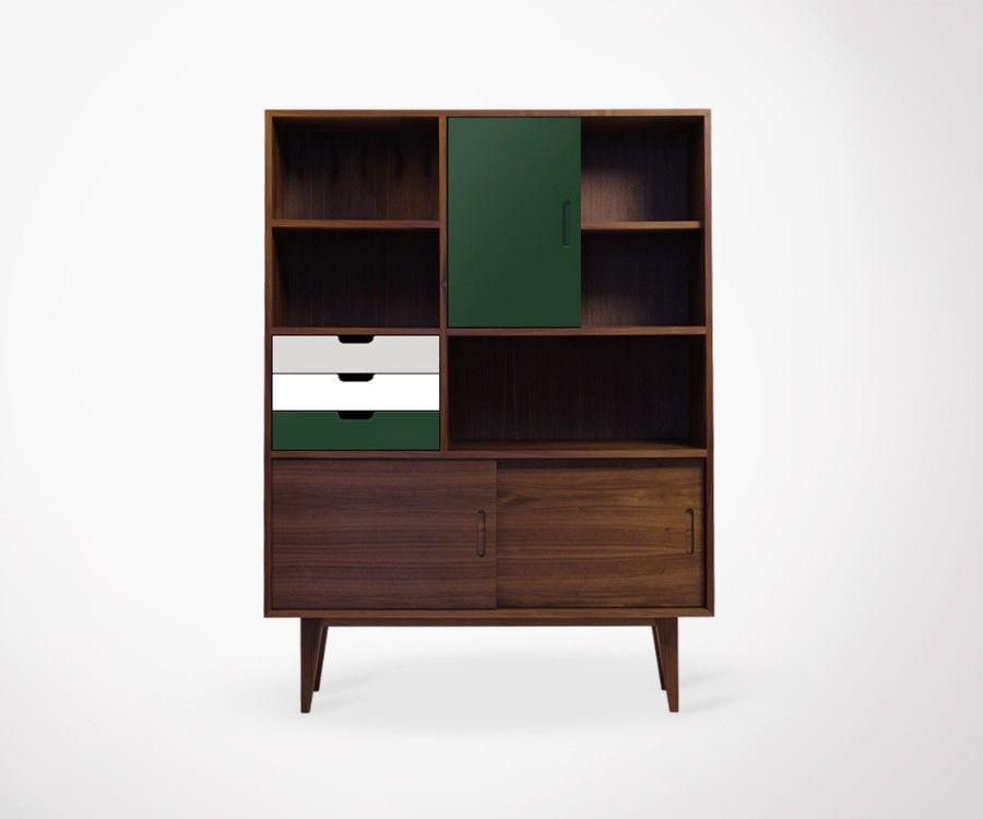 buffet design scandinave r tro haut de gamme. Black Bedroom Furniture Sets. Home Design Ideas