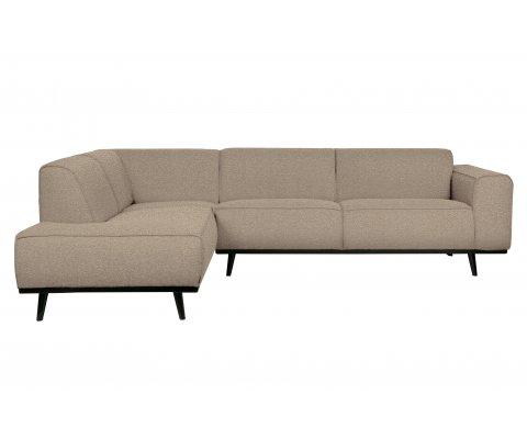Canapé d'angle gauche moderne STATEMENT