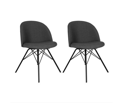 Lot de 2 chaises -ALYSSA