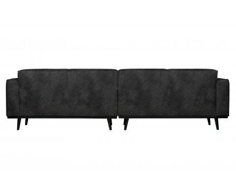Grand canapé moderne en suédine STATEMENT