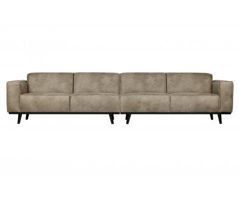 Grand canapé 372cm en simili STATEMENT