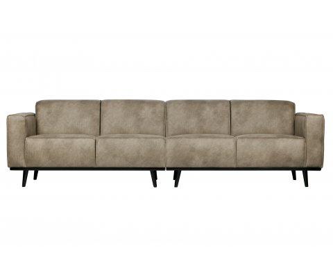Canapé moderne 280cm en simili STATEMENT