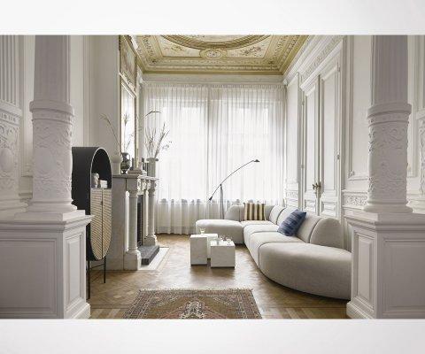 Table basse marbre 28cm forme cubique STRUK - HK Living