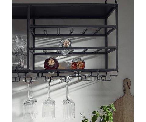 Grande étagère suspendue à verres VENUS