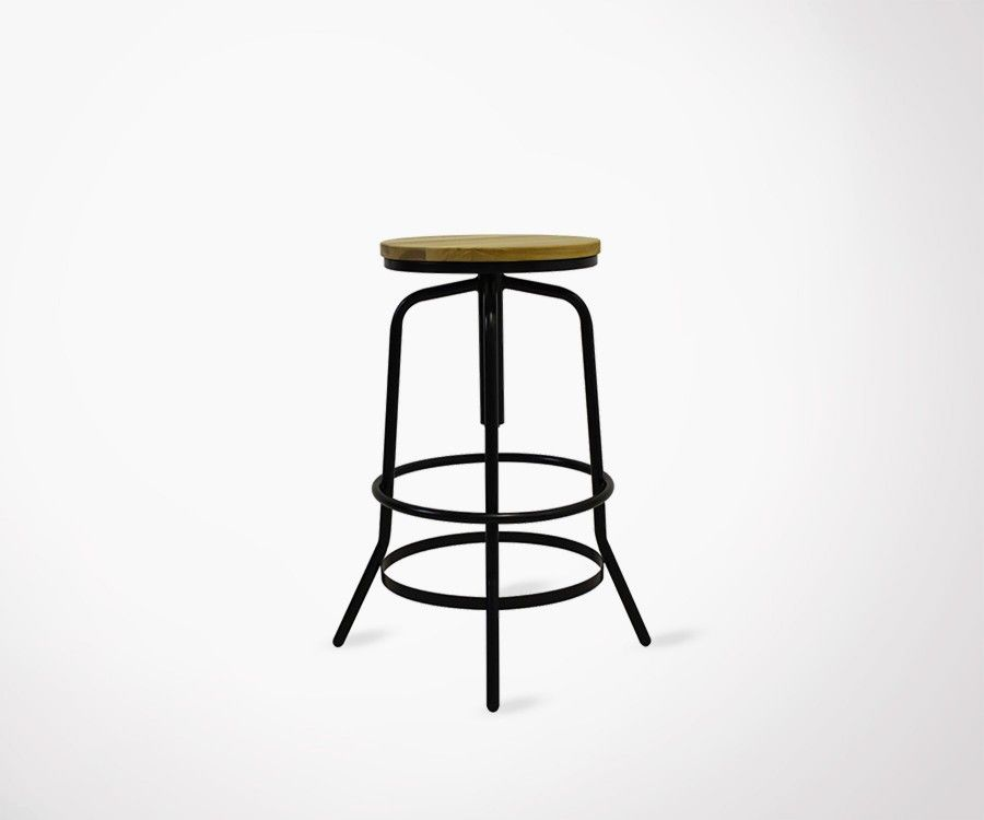 DOLETO Industrial Design Stool