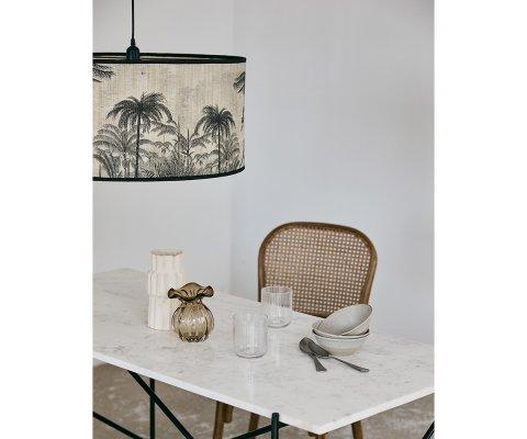 Suspension design en bambou motifs jungle ZAFA