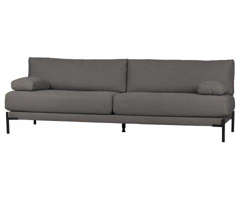 Canapé contemporain en tissu 3 places LENA