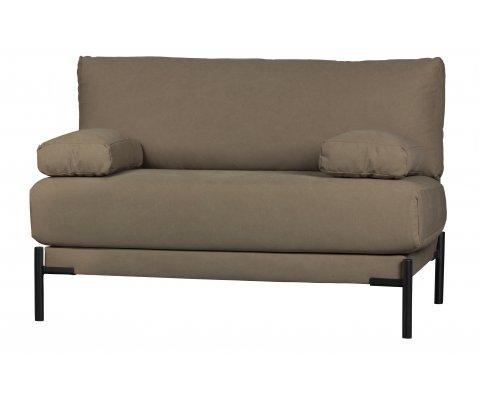 Petit canapé design en tissu LENA