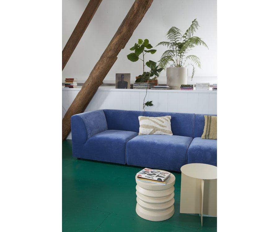Canapé modulable section angle droit BLOM