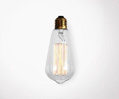 Ampoule vintage filament EDISON - 40W