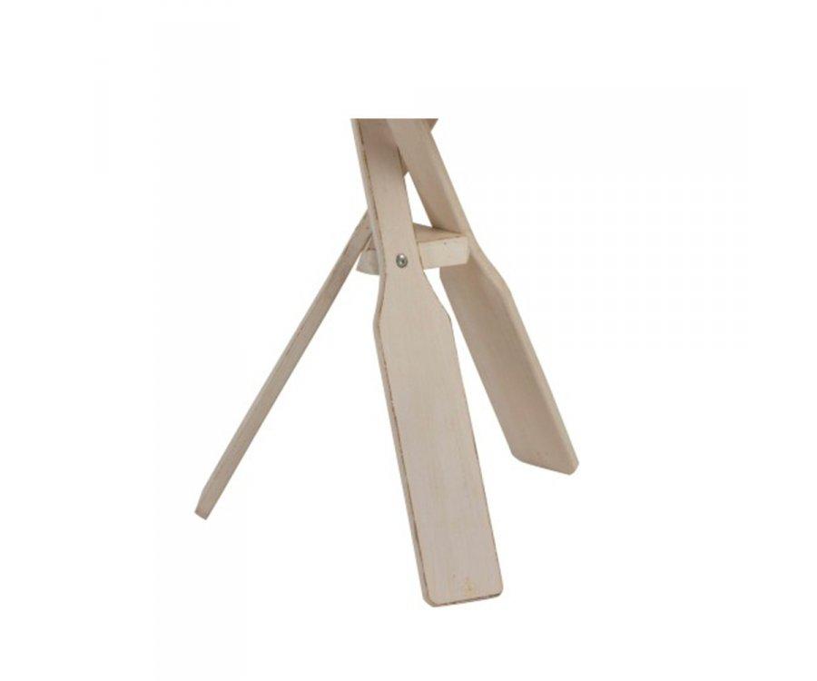Lot de 2 tables de chevet minimalistes en bois MAMBA