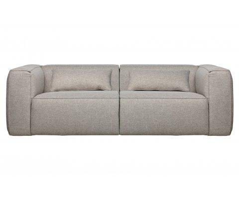 Canapé droit 246cm 3 places en tissu BEAN