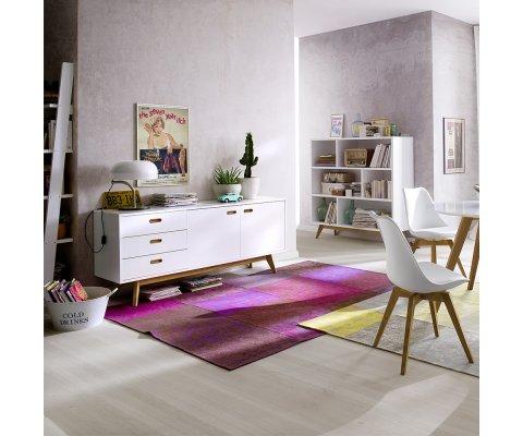 Buffet scandinave en bois blanc CAZO