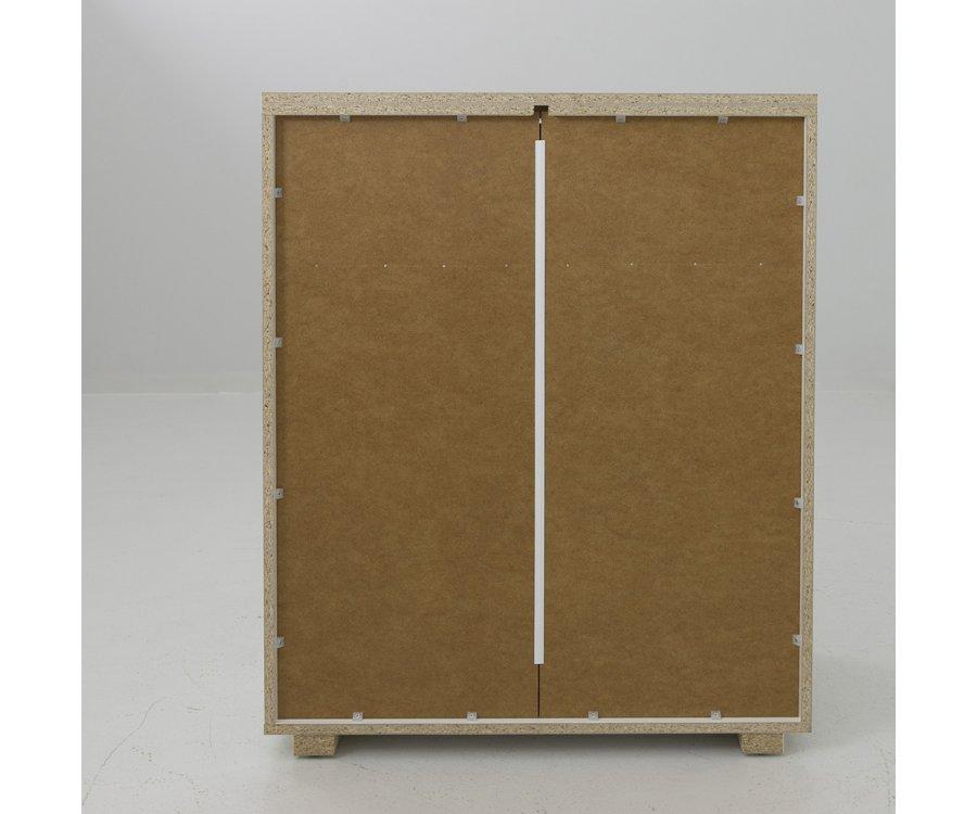 Commode haute 4 tiroirs en bois MILLIMY