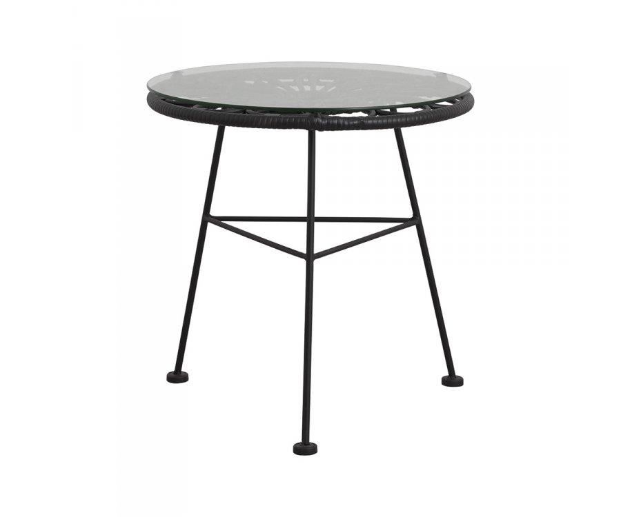 Petite table basse ronde extérieur CARLOTA