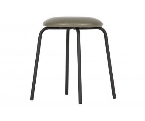 Tabouret bas d'appoint simili BUDDY - BePureHome