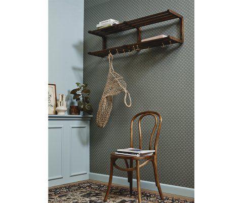 Lot 2 chaises design bois BISTRO - Nordal