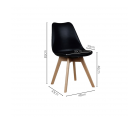 Lot 2 Chaises Design BERNICE