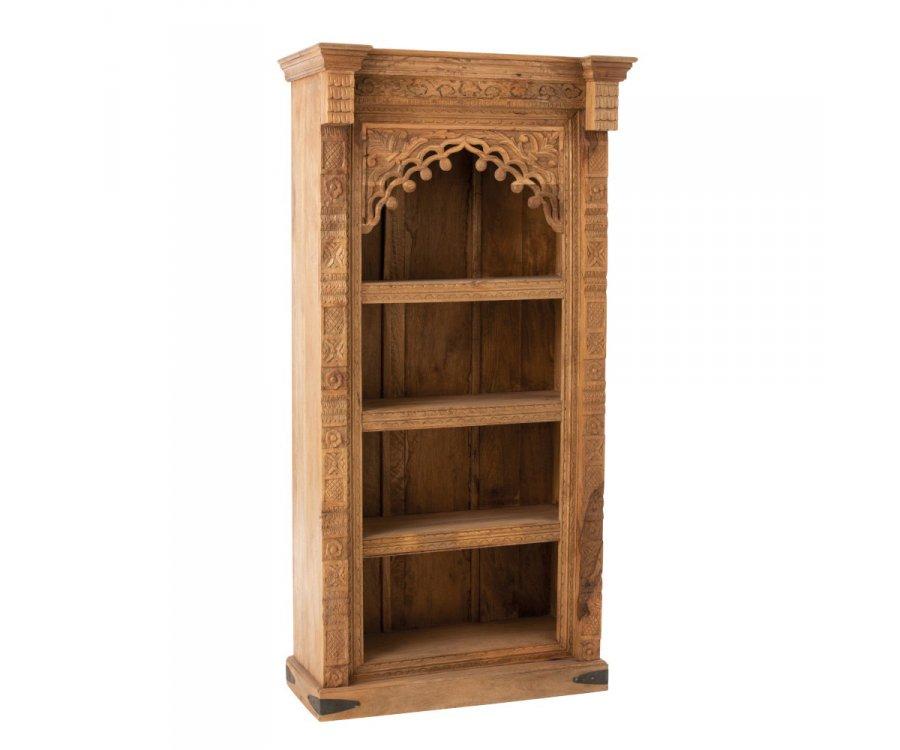 Étagère en bois style baroque MAROC