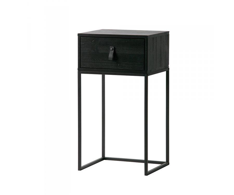 Table de chevet avec tiroir LAELIA - Woood DHK - 1