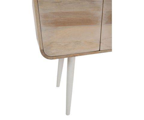 Console 3 tiroirs style moderne RONDO - 105 cm