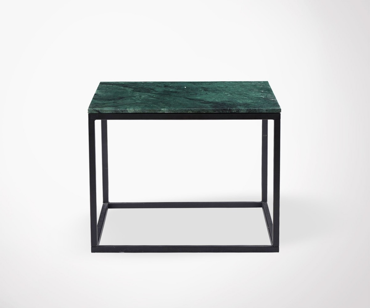 Table Basse Design En Marbre Vert House Doctor # Grande Table Basse Carre Indus