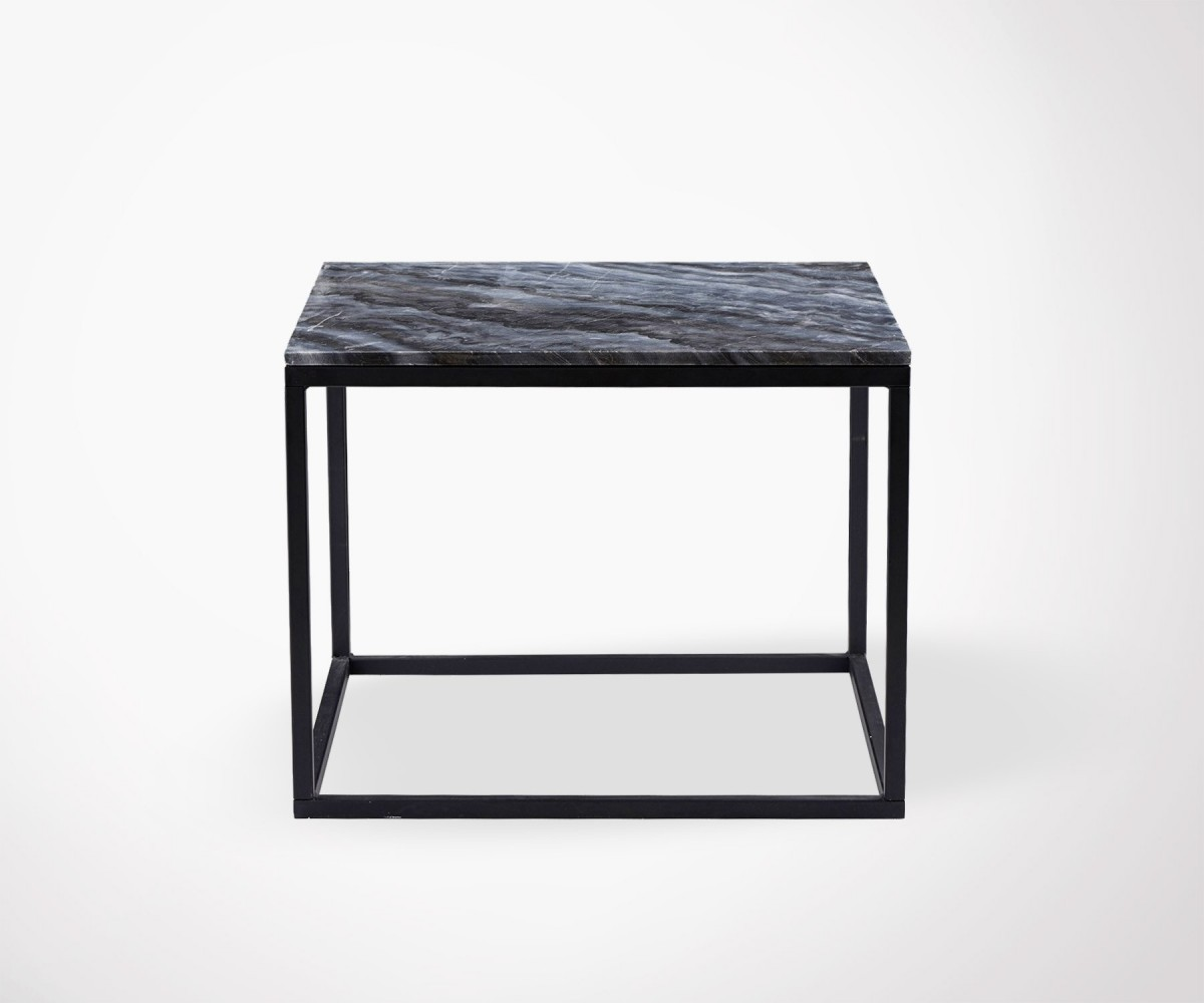 Table basse design en marbre gris house doctor for Table en marbre