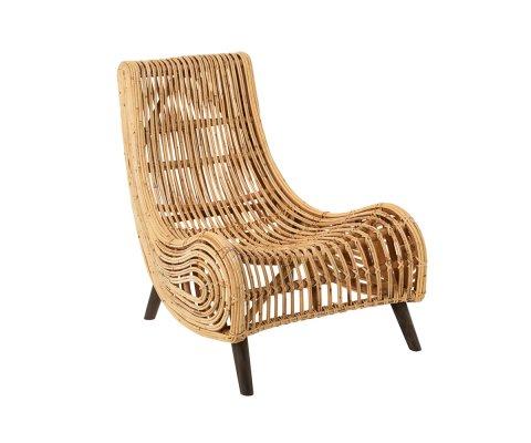 Fauteuil design en rotin style bohème VYVY