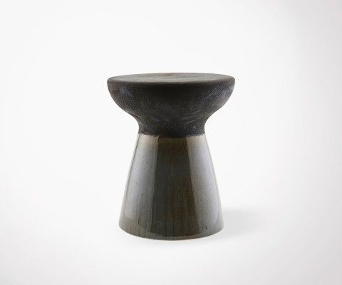 PABLO Earthenware Ethnic Style Stool