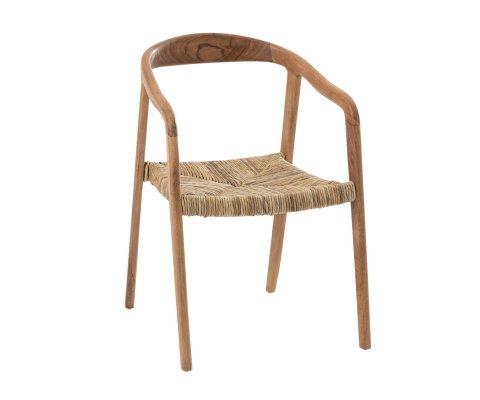 Chaise moderne en bois de teck FASA