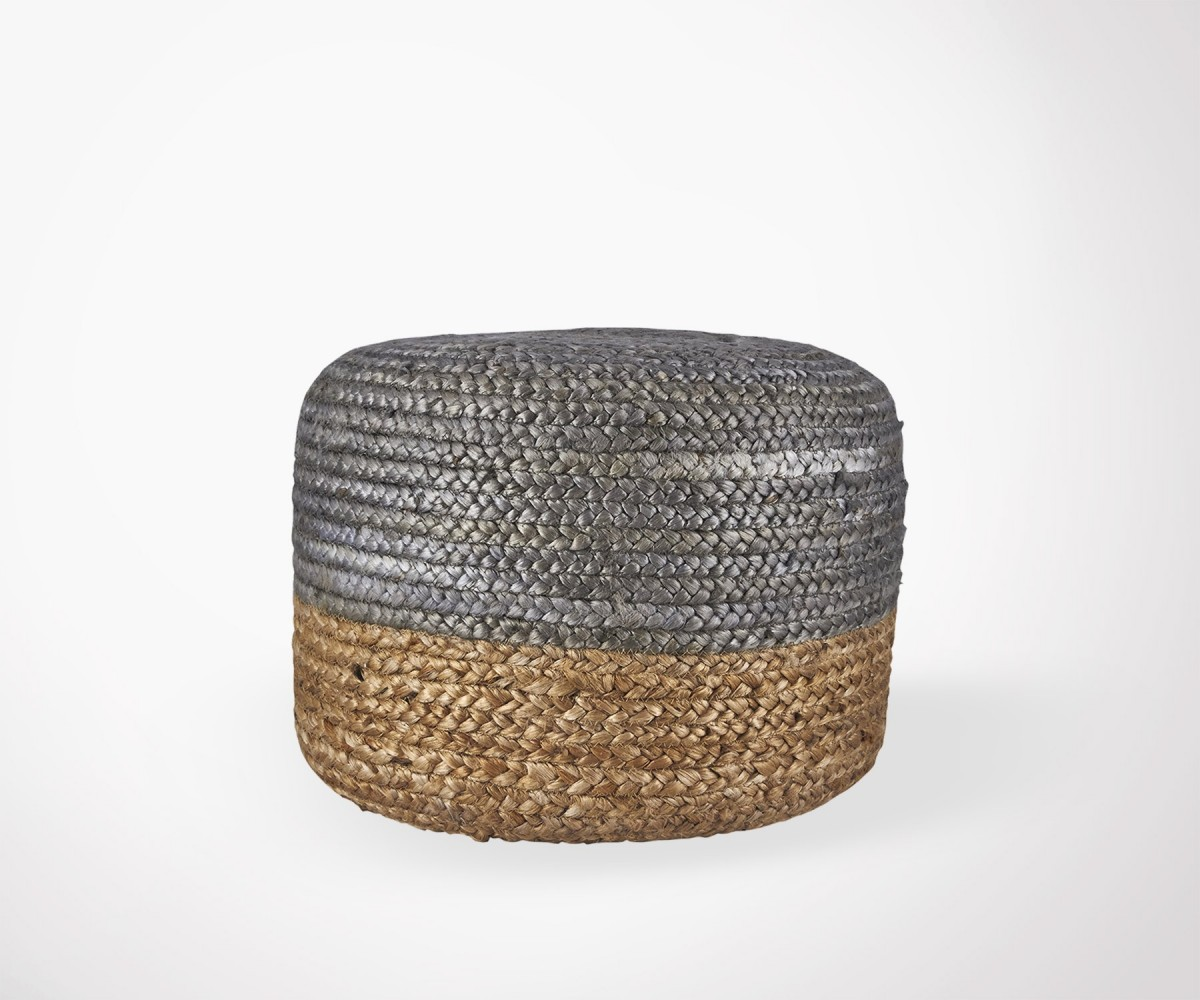 Ethnic Jute Puff by House Doctor - Several Colors in Stock