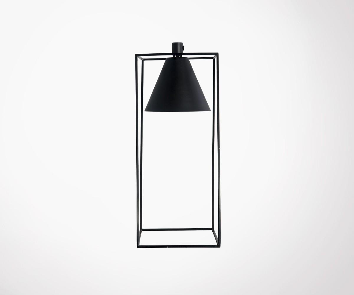 House Doctor Lampen : Black metal modern look table lamp house doctor