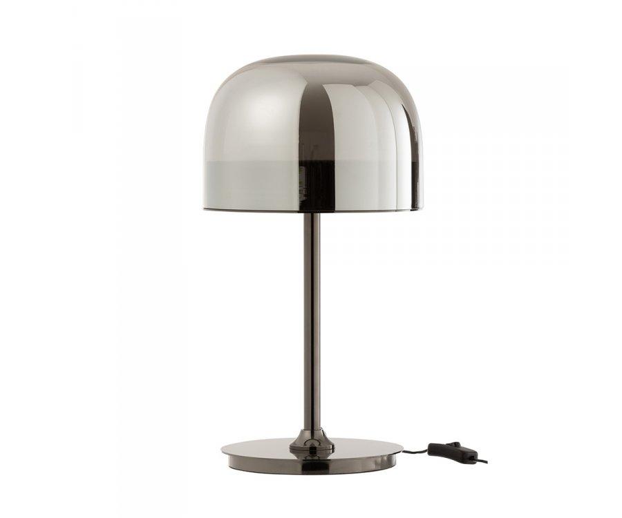 Lampe de table design en verre et métal TUIMO