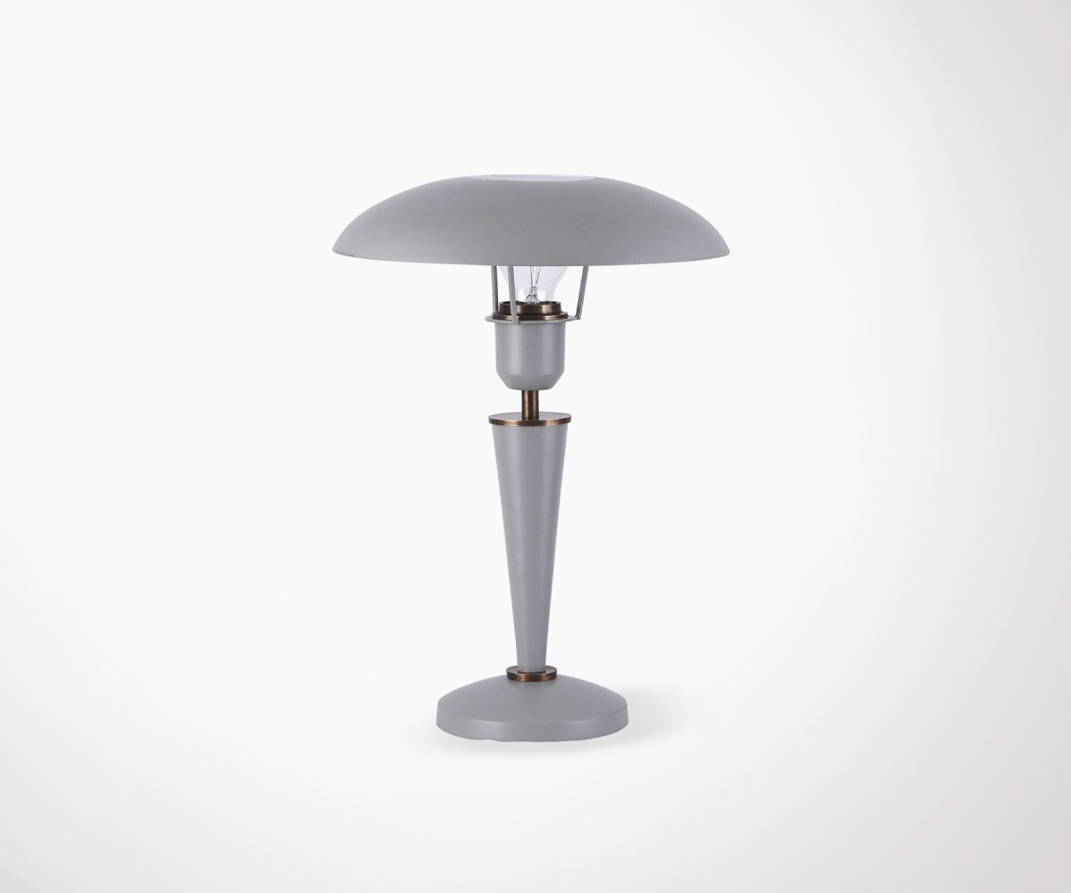 Lampe De Table Design En Metal Noir Design Retro House Doctor