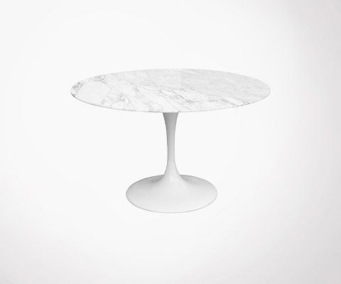 Table ronde en marbre 100cm FLOWER