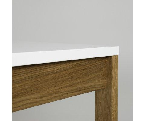 Table à manger 180x90cm en bois MADIA