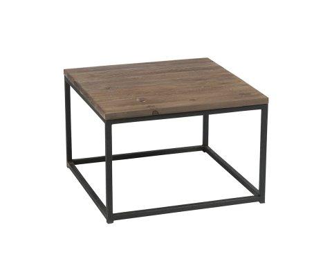 Table basse minimaliste en bois et métal ALEXIA - J-line