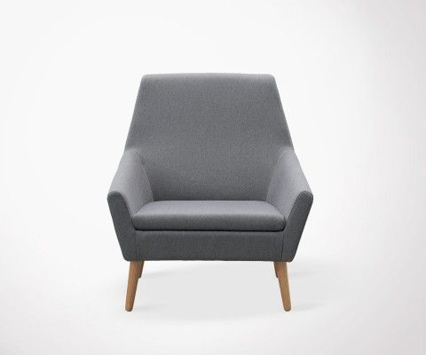 Dark Grey Nordic Armchair KANT