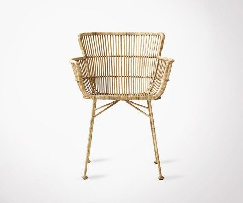 Natural Rattan Dining Chair COON