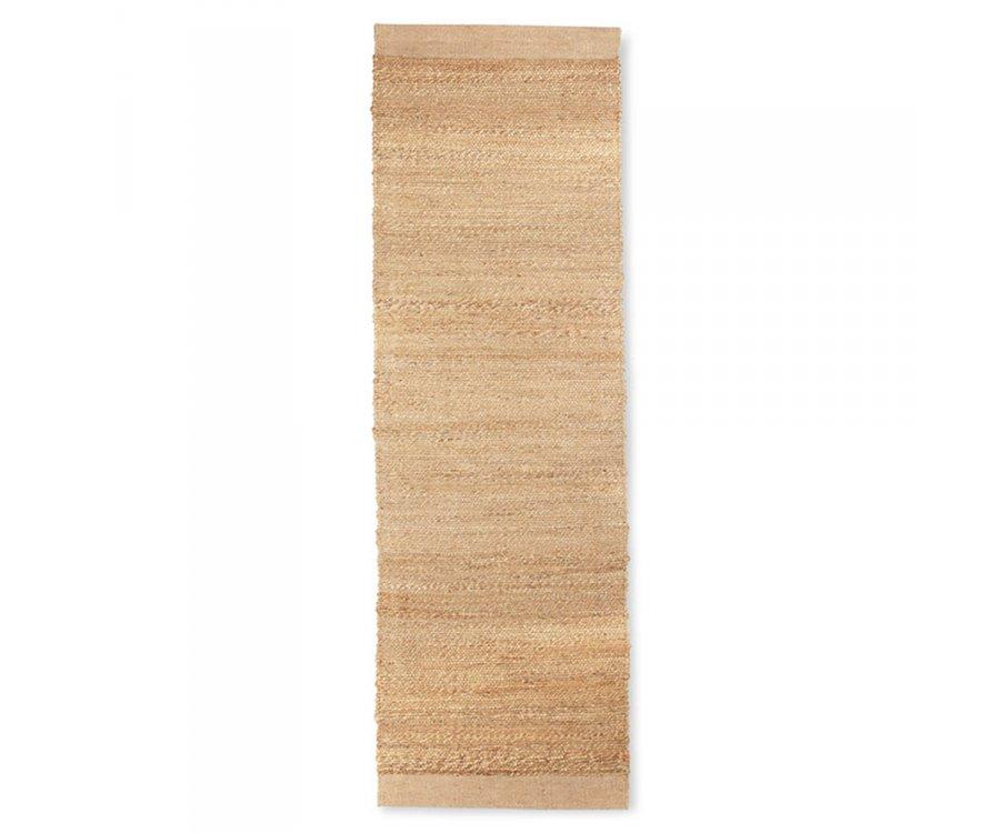Tapis de couloir en jute 60x200 cm YOMI