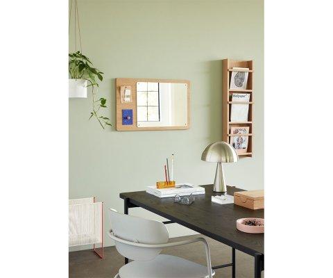 Bureau en bois et métal noir 160x83cm OUJA