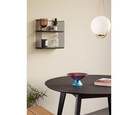 Table à manger ronde 120cm en bois HANETTE